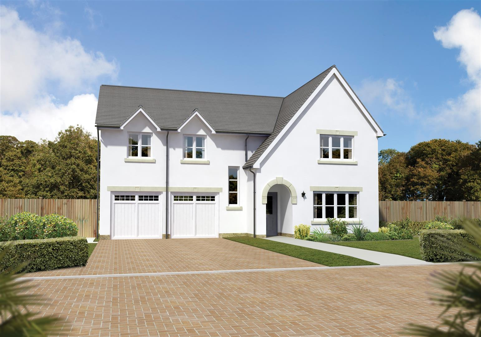 The Southbrook Stewart Milne Homes Hunters Meadow